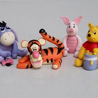Winnie the Pooh, Eeyore, Tigger & Piglet Too!