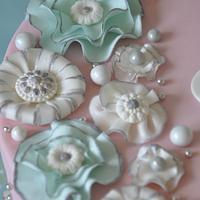 Little Fantasy Flowers goes Blingy!! by Neha