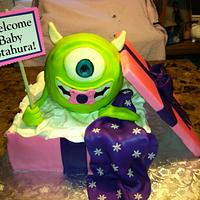 Monster's Inc. Baby Shower Cake
