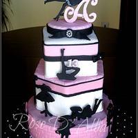 La petite robe noir de Guerlain cake