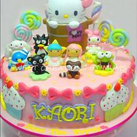 Sanrio Themed Cake