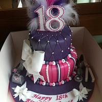 pink purple 18th
