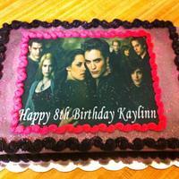 Twilight sheet cake