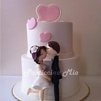 Engagement Cake  by Pasticcino Mio