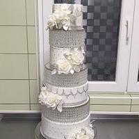 Cristal weesing cake