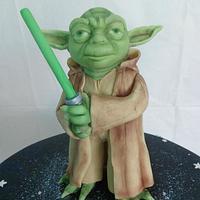 Yoda Cake by Zoe White