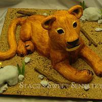 Lion Cub by Naturepixie