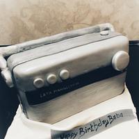Radio cake...