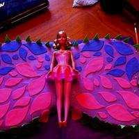 Barbie Mariposa Cake