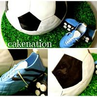 Soccer Ball and Boots