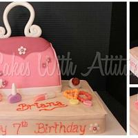 Little Girl's Purse Cake