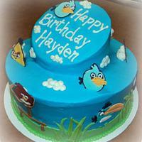 Angry Birds- Topsy Turvyish ;)