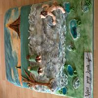 Lord of the Rings Cake by Claire's Cakes and Bakes