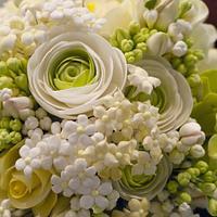 Sugar Flowers - Wedding Cake Topper