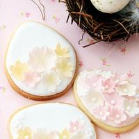 Easter Egg Cookies by Esther Scott