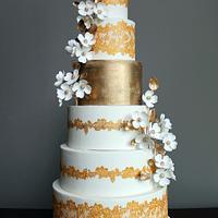Elegant Indian Wedding Cake