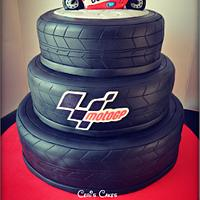 Moto GP cake