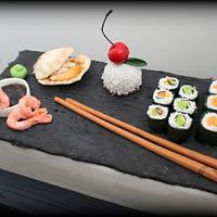 Sushi cakes