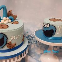 Birthdaycake cookiemonster