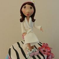 SPA day birthday cake by Dolce Sorpresa