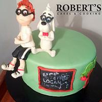 Peabody and Sherman cake
