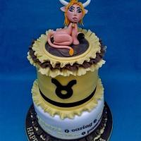 Zodiac Sign - Taurus Cake