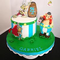 Axterix cake