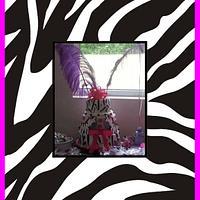 Pink and Zebra baby shower
