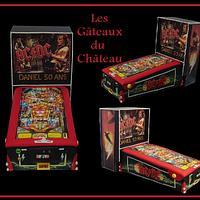 AC/DC pinball machine