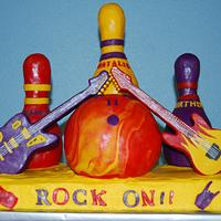 Rock N' Bowl Cake by Nicole Taylor