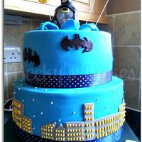 Batman Cake by Disneyworld25