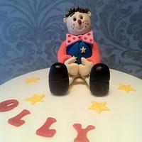 Mr Tumble Cake by Nina Stokes