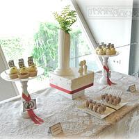Kiwi BBQ Lunch Wedding Cake