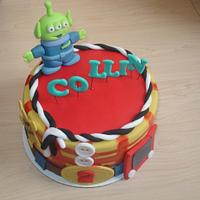 Toy Story Inspired Cake