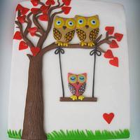Owls by Alena