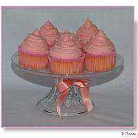 Cupcakes Nastro Rosa
