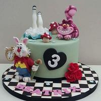Alice in Wonderland  by The Buttercream Pantry