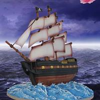 Pirate Ship - Sugar Pirates Collaboration