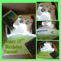 X Box cake by Witty Cakes