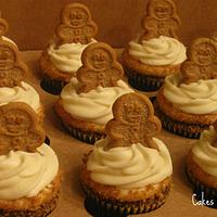Gingerbread Latte Cupcakes by Becky Pendergraft