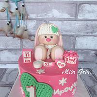 Cake Charming bunny