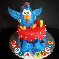 gallina pintadita cake