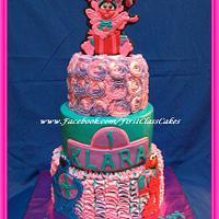Sesame Street Abby Cadabby Cake by First Class Cakes