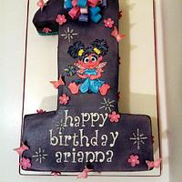 Abby Cadabby by Simply Delicious Cakery