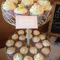 Simple wedding cake by CakesbyCorrina