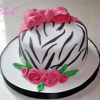 zibra cake
