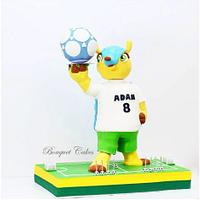 World Cup Adam's cake