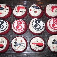 Hair Stylist Cupcakes