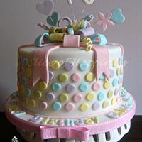A Present Cake - Lots of Dots