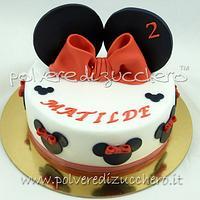 ears minnie cake
